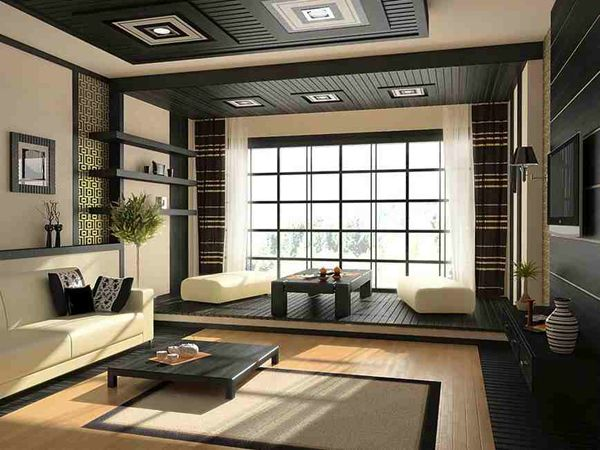 20 Japanese Home Decoration in the Living Room | Japanese living .