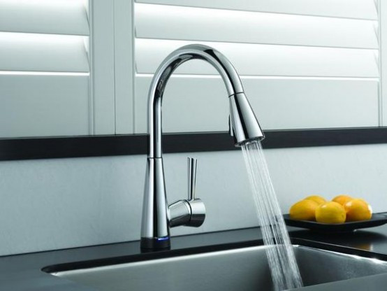 Kitchen And Bathroom Trend: 31 Flowing Faucets - DigsDi