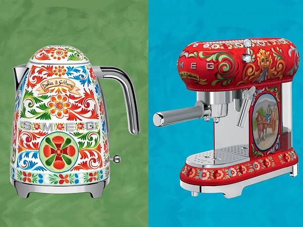 Spruce up your kitchen countertop with Dolce & Gabbana applianc