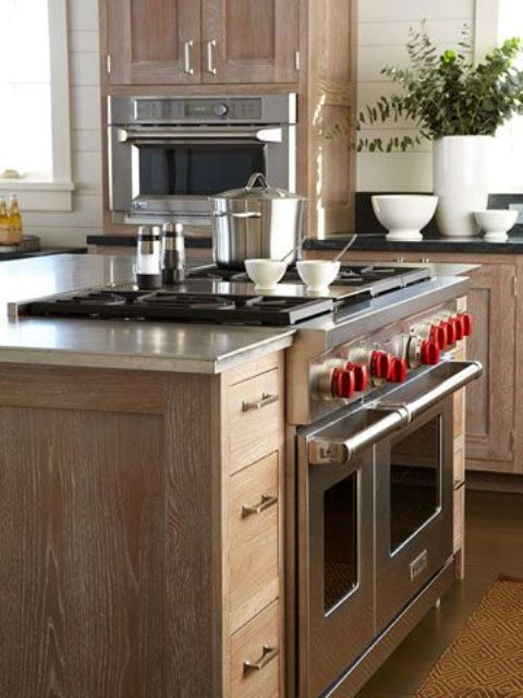 39 Smart Kitchen Islands With Built-In Appliances - DigsDi