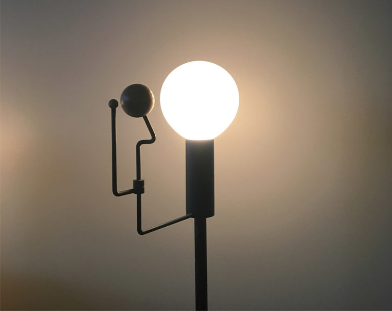 Orrery Lamp Inspired By The Solar System - DigsDi