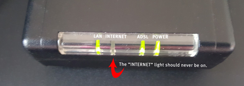 What do the lights on my modem mean? - ATC Communicatio