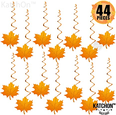 Amazon.com: Hanging Swirls for Thanksgiving Decorations – Pack of .