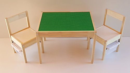 SPECIAL EDITION LEGO TABLE! LEGO-COMPATIBLE IKEA CHILDRENS TABLE .