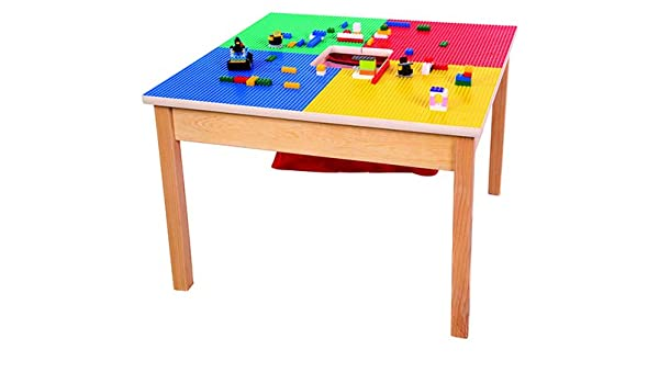 Amazon.com: Lego Compatible Table Heavy Duty Model with Built-in .