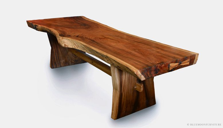 Live Edge Wood Furniture & Decorating Ideas for Ho