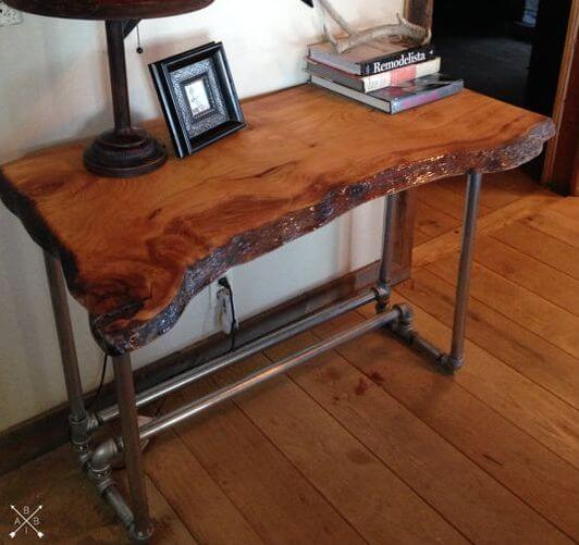 35+ Creative DIY Live Edge Wood Projects & Ideas For 20
