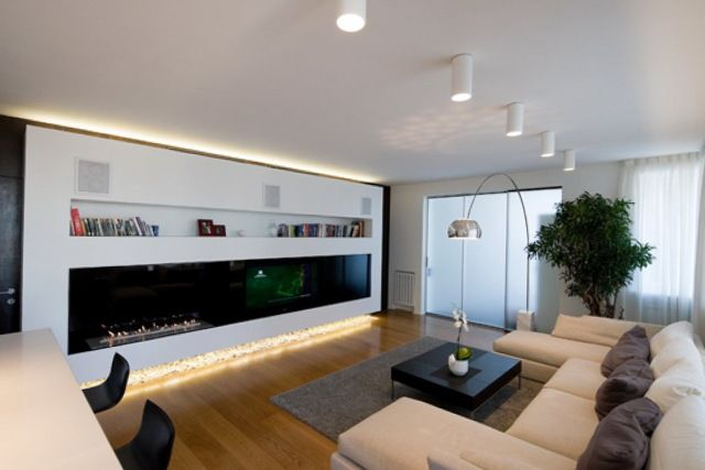 Proper living room lighting ideas apartment to exaggerate the .