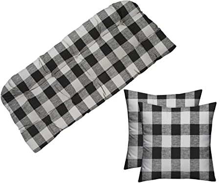 Amazon.com : RSH Décor Indoor Outdoor Tufted Cushion for Wicker .