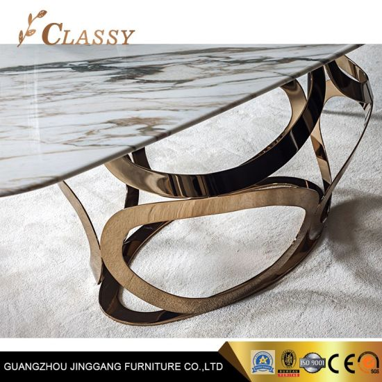 China Luxury Handmade Marble Dining Table - China Dining Table .