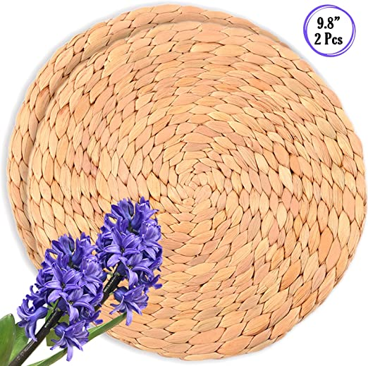 Amazon.com: Luxury Large Wicker Placemats for Dining Table .