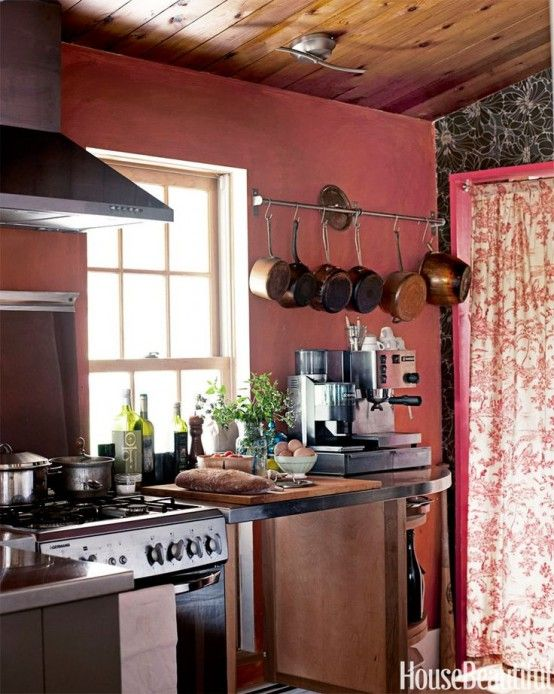 Marsala For Kitchens And Dining Room : 28 Design Ideas | Red .
