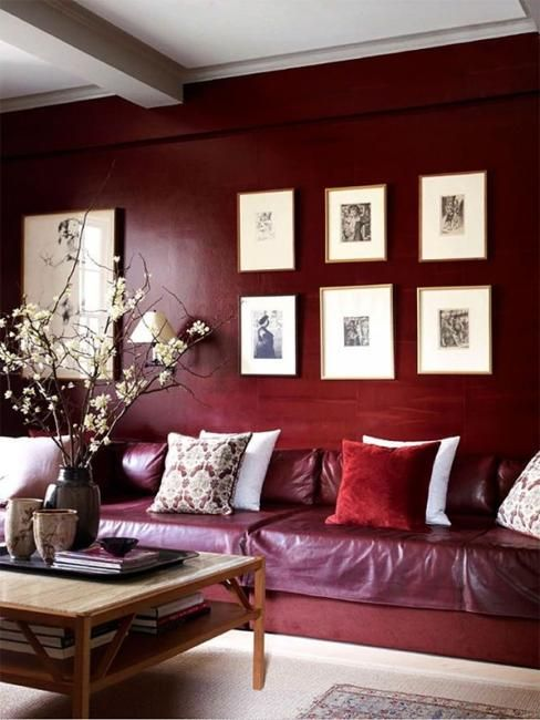 25 Ideas for Modern Interior Design and Decorating with Marsala .