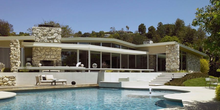 A 1957 Mid-Century House in Beverly Hills Made For Entertaining .