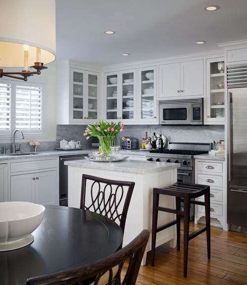 How To Make An Island Work In A Small Kitch