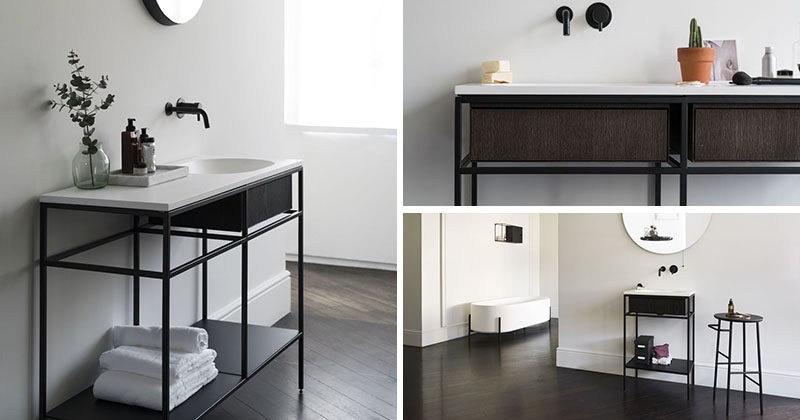 Norm Architects Have Designed A Collection Of Minimalist Bathroom .