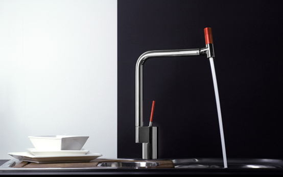 modern kitchen faucets Archives - DigsDi
