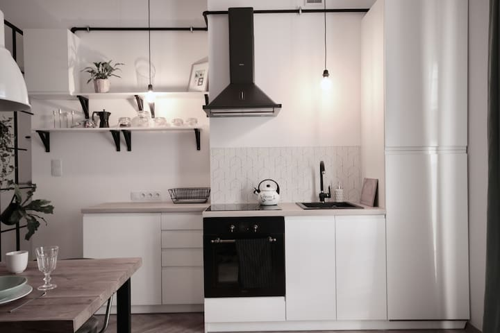 Minimalist Industrial Old Town Cracow - Apartments for Rent in .
