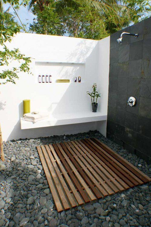 Pin by Emily Prager on Outdoors | Outdoor bathroom design, Outdoor .