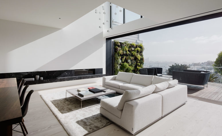 Minimalist White House With A Luxury Touch - DigsDi