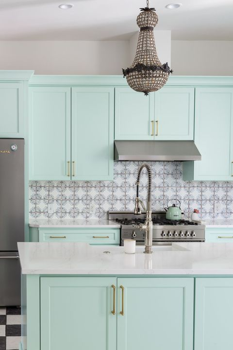 31 Green Kitchen Design Ideas - Paint Colors for Green Kitche