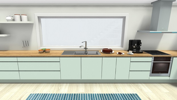 RoomSketcher Blog | Cool Mint Green Kitch