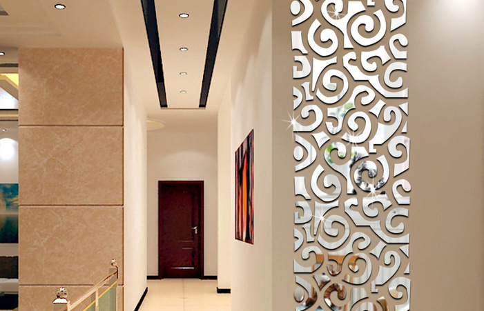 Wall Decoration With Mirrors Home Decorating Ideas Decorative .