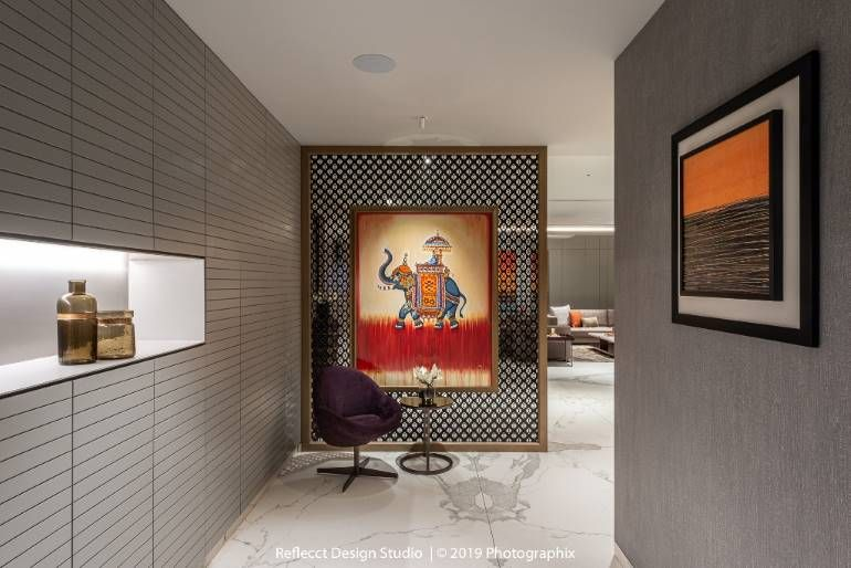 An art-filled luxury apartment gets its interior design right .