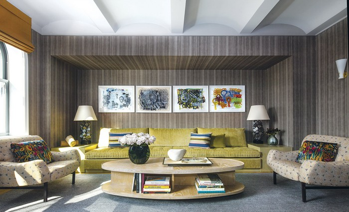 Revamped Art-Filled Modern Apartment in NY Historic Buildi