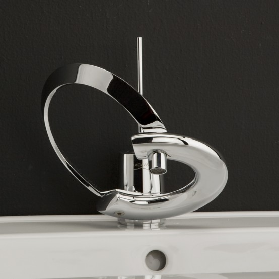 Modern Bathroom Faucets With Curved Levers – Embrace Lacava .