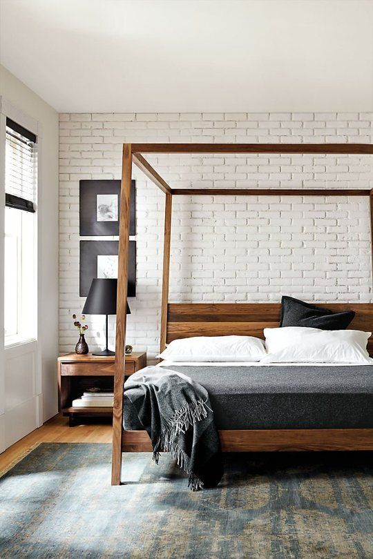 Dream On: Modern Canopy Beds for Every Budget | Modern bedroom .