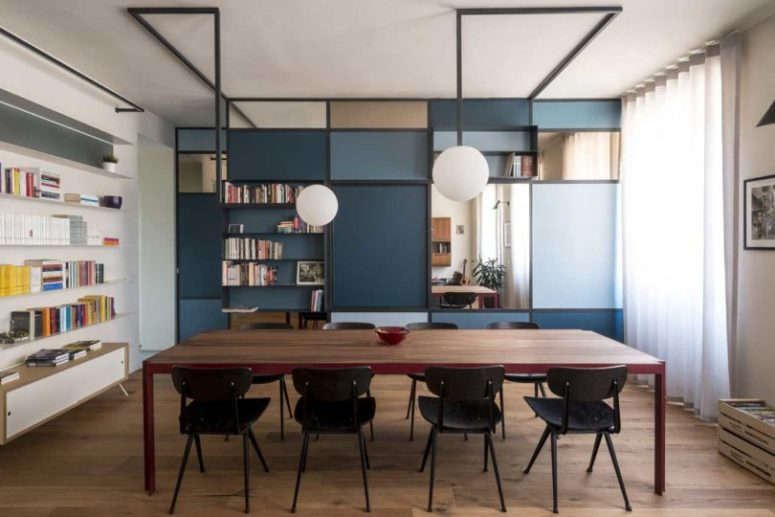 Modern And Bold Torino Apartment For A Writer - DigsDi