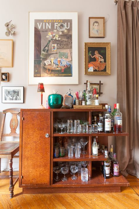 """Eclectic Chaos"""" in a Fantastic Feminist NYC Rental 