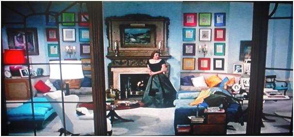 Ingrid Bergman's apartment in Indiscreet (1958). Lovely mix of .