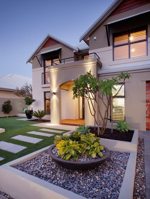 Low Maintenance Front Yard Home Design Ideas, Pictures, Remodel .