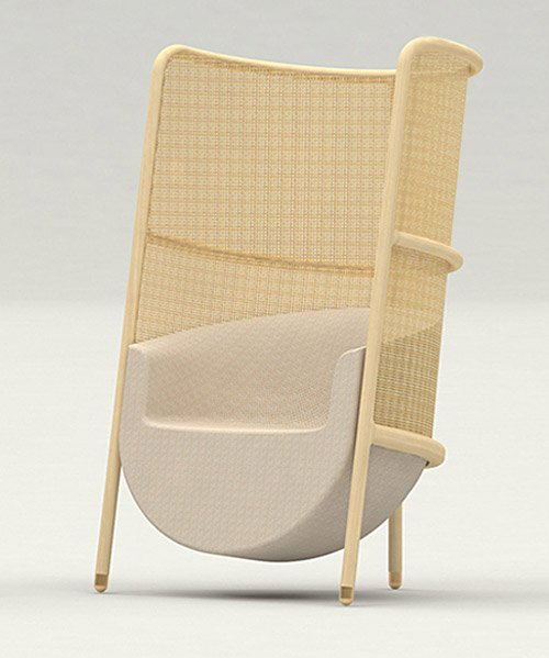 masque collection combines timeless chair design with modern approa