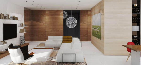 25 Modern Home Design with Wood Panel Wall | Design Sw