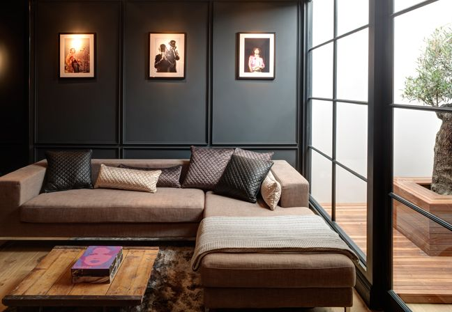 Buster + Punch – classic Victorian townhouse in East London .