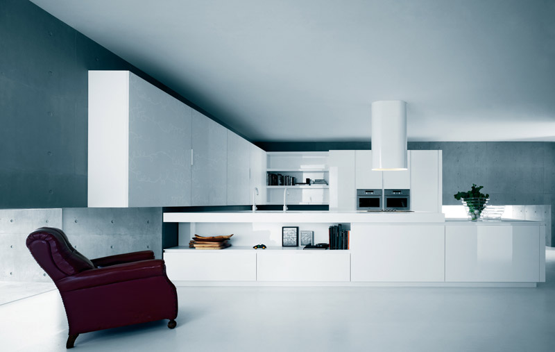 Modern Pure White Kitchen Cabinets and Accessories - Yara from .
