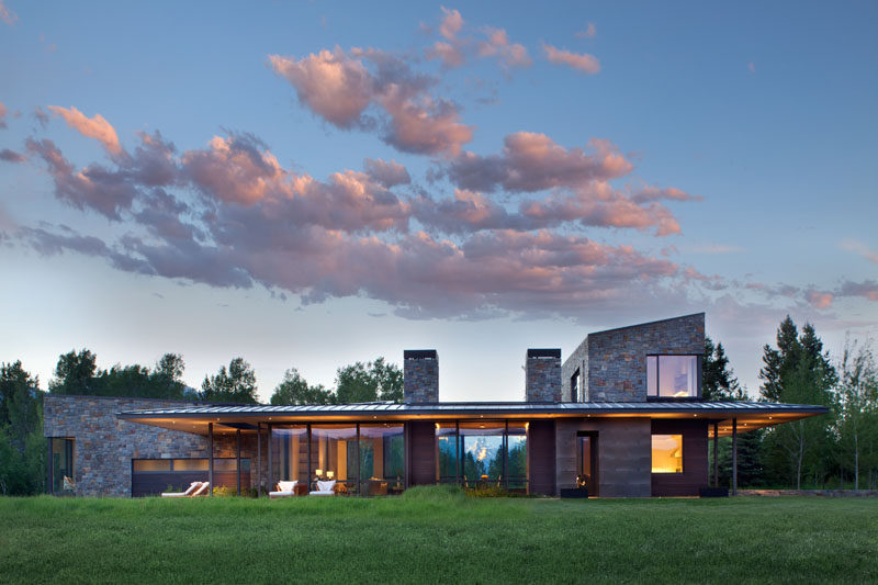 Carney Logan Burke Architects Have Designed A New Home In Rural .