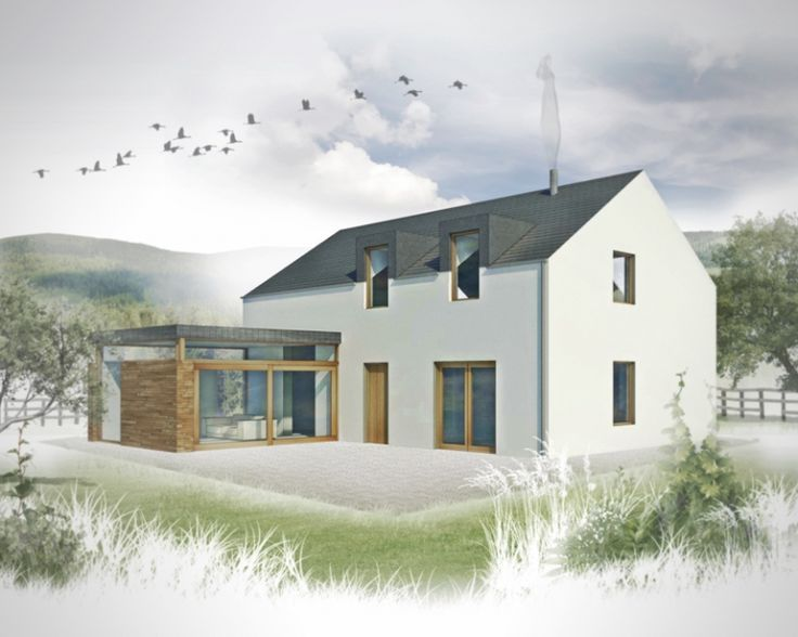 Image result for small modern rural house design ireland   House .