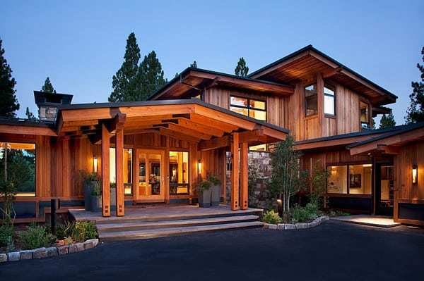 Only Furniture: Rustic Mid Century Modern House Exterior | Home .