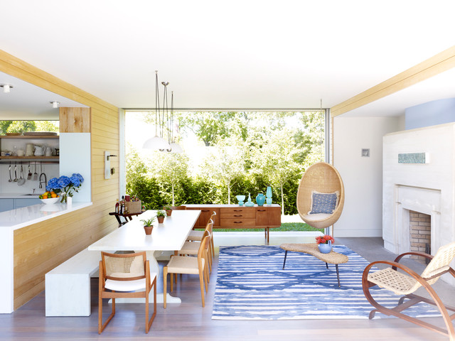 Modern Summer House - Contemporary - Dining Room - New York - by .