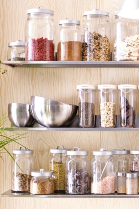 One of the most important items in a raw food kitchen is storage .