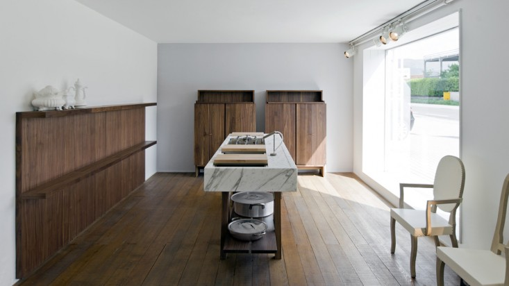 A Moveable Feast: A Modular Kitchen from an Italian Architect .