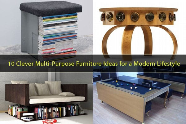 10 Clever Multi-Purpose Furniture Ideas Meeting the Needs of a .