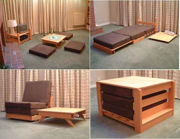 28 Multi-Purpose Furniture That Changes Function In No Ti