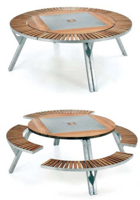 5 Cool Multifunctional Furniture Pieces : HomeJelly | Transforming .