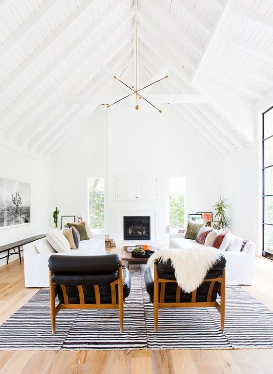 23 Non-Boring White Sofa Ideas For Your Living Room   new house x .