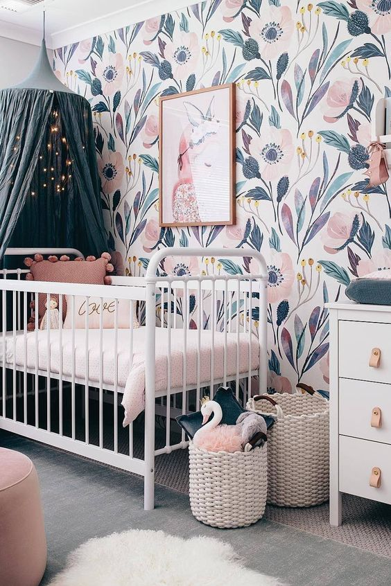6 Hottest Baby Nursery Decor Trends for 2019 into 2020 in 2020 .